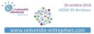Université des Entreprises 2016