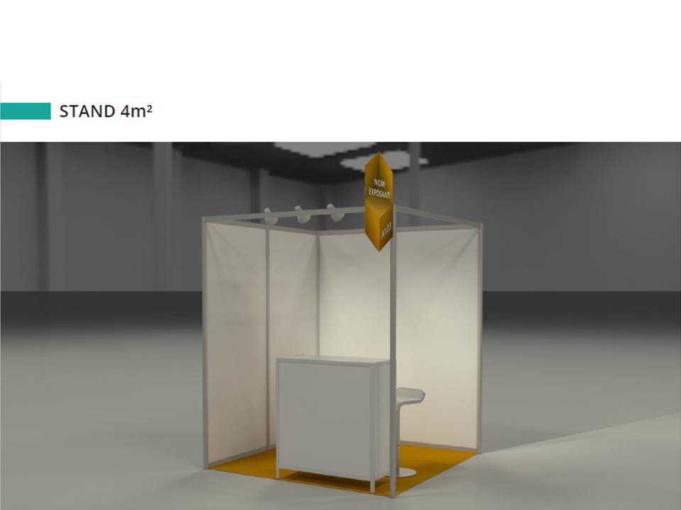 Stand 4m²