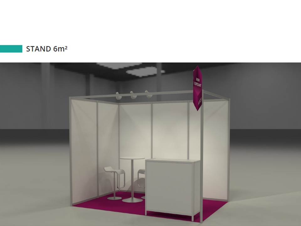 Stand 6m²