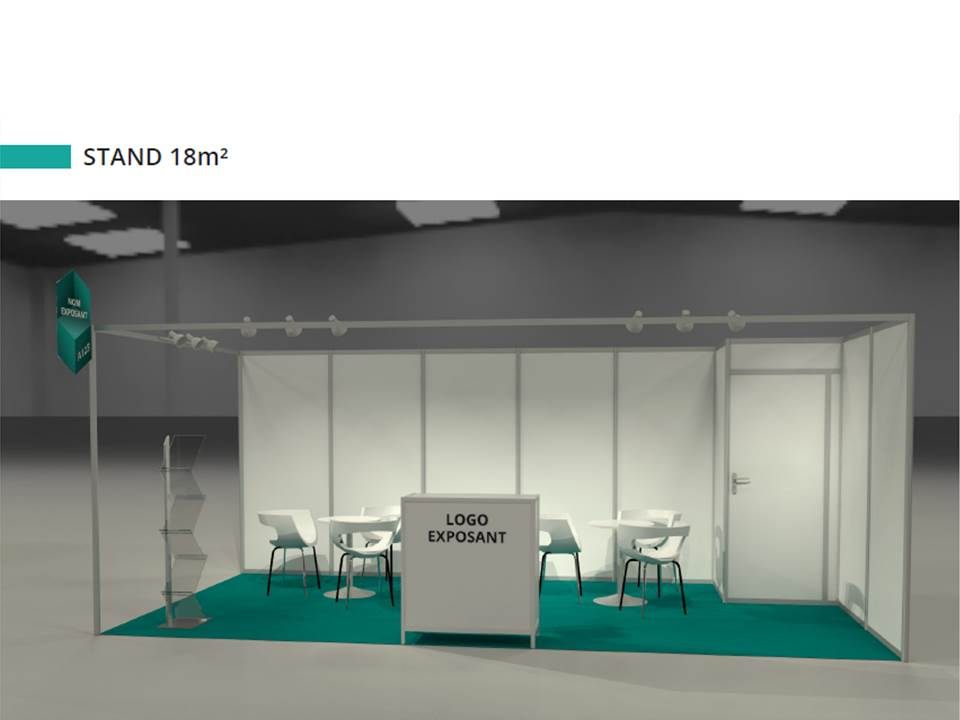 Stand 18m²